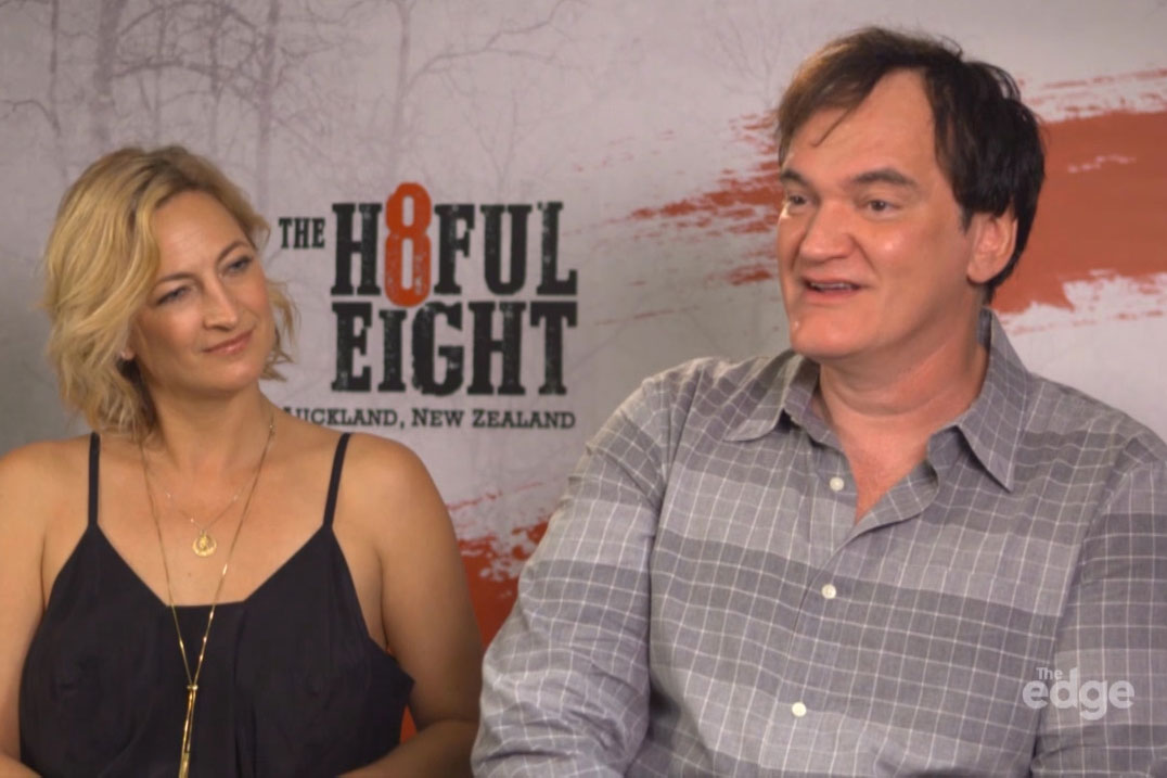 WATCH: Quentin Tarantino talks weed and rom-coms with Jay Jay, Dom and Randell