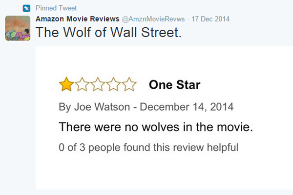 The best of Amazon's DUMBEST user-submitted movie reviews