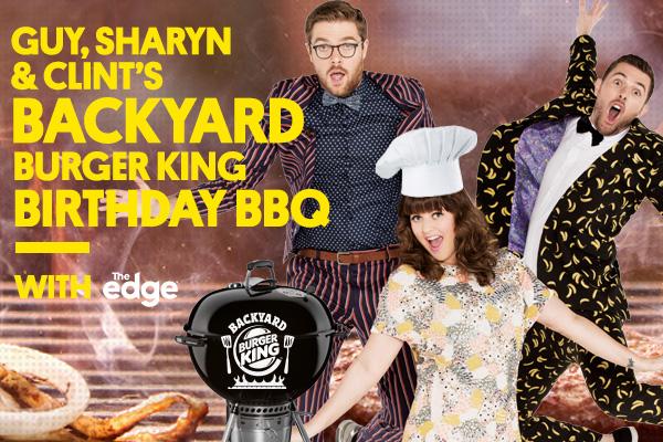 Come to GSC's Backyard Burger King Birthday BBQ!