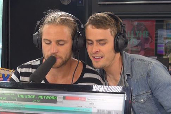 VIDEO: Ash and Matt sing the 'Home & Away' theme song