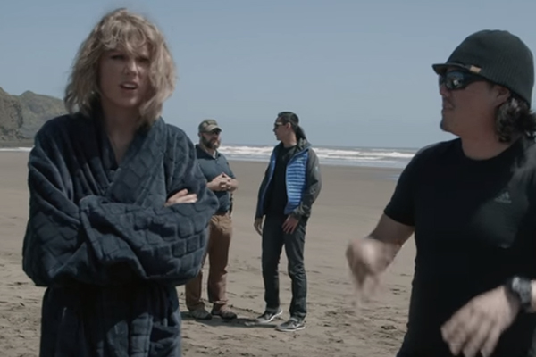 WATCH: Taylor Swift talks about filming her music video in New Zealand