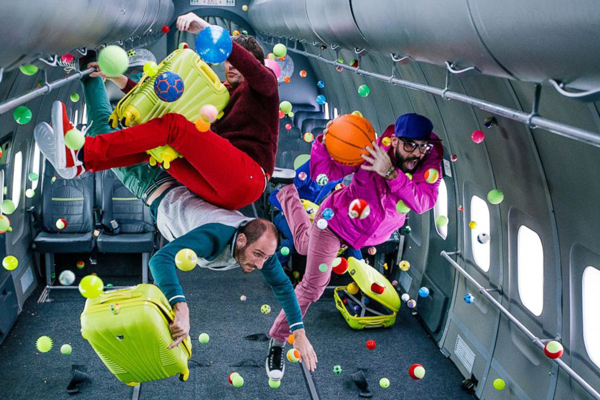 'OK Go' at it again with INSANE zero gravity music video