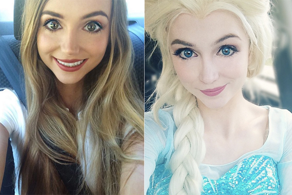 This 25-year-old woman spent $14,000 to look like a Disney Princess