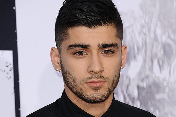 PHOTOS: Zayn Malik dyed his hair PINK for Valentine's Day