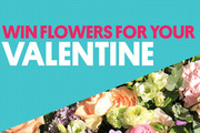 Win flowers for your Valentine