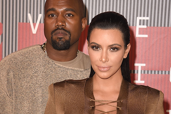 Kim Kardashian SLAMS rumours that she and Kanye are divorcing