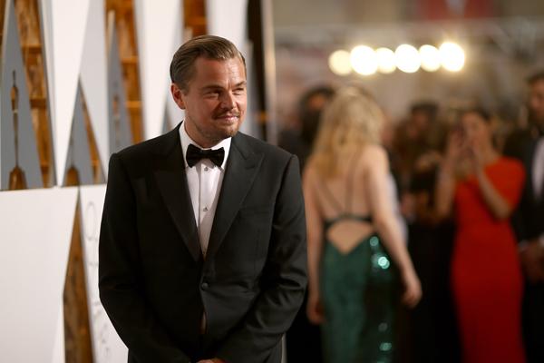 PHOTOS: Leonardo DiCaprio WINS his first Oscar