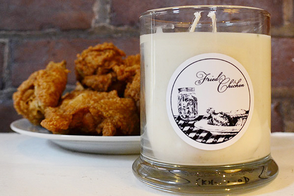 These KFC-scented CANDLES are an actual thing