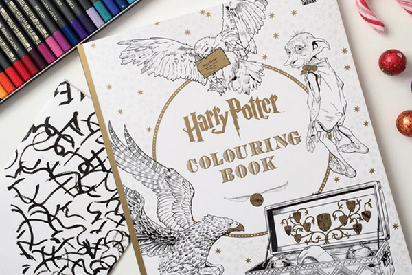 This girl claims her 'Harry Potter' colouring book SAVED her life