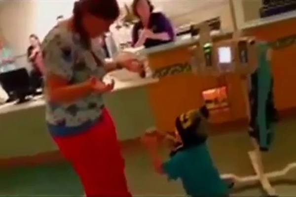 VIDEO: This 5-year-old cancer patient PROPOSING to his nurse is the cutest thing ever