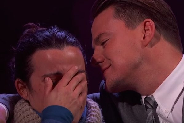 WATCH: Channing Tatum just asked this unsuspecting fan to be his Valentine