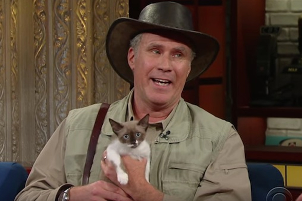 WATCH: Will Ferrell debuts his NEW JOB as an exotic animal handler