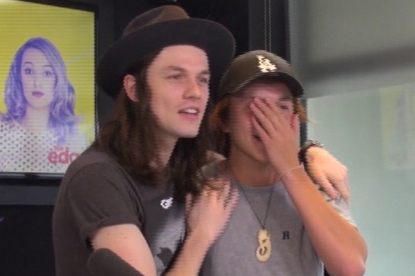 James Bay gives Edge intern world's WORST interview
