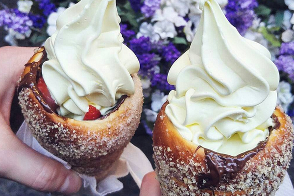 The DONUT ice cream cone has arrived to make your dessert dreams come true