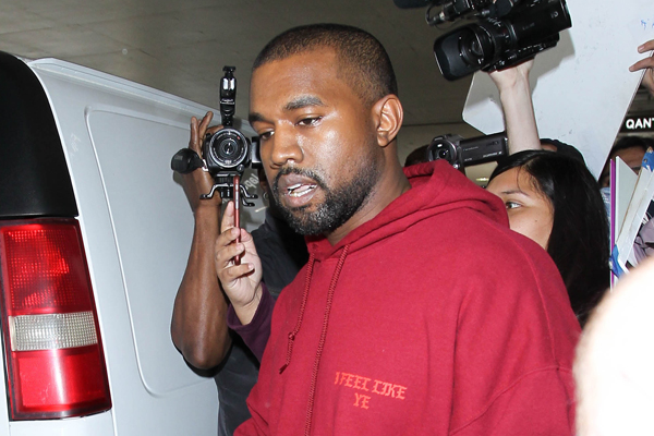WATCH: Kanye West gets a ride home with PAPARAZZI after his taxi doesn't show up