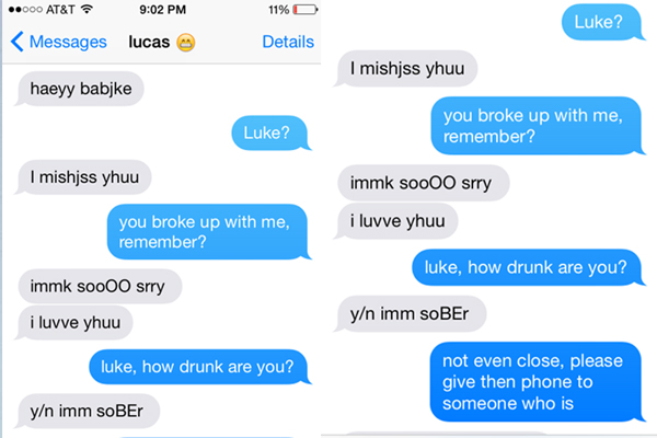 There's now an App that allows you to delete all your DRUNK texts before they're read!