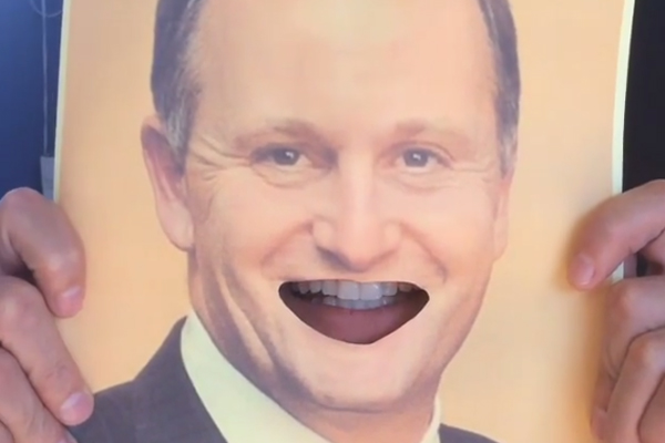 The Bachelor's impersonation of John Key is as CREEPY as it gets