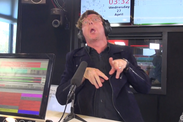 WATCH: Rhys Darby does his infamous DINOSAUR impression