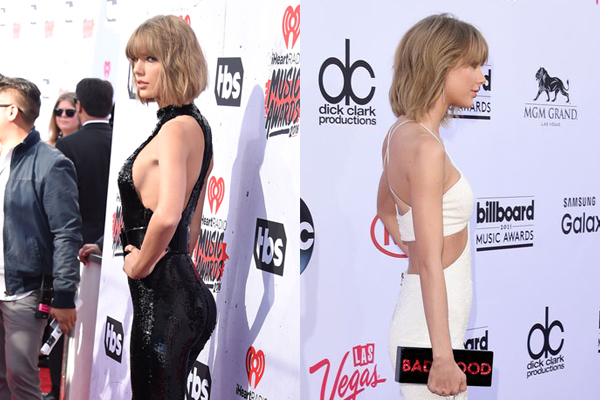 PHOTOS: Taylor Swift's bum does not look like THIS anymore