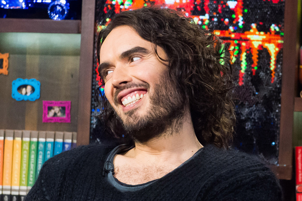Russell Brand is going to be a FATHER!