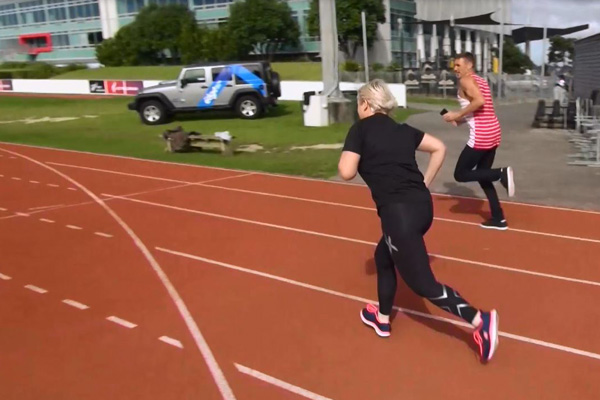 WATCH: Can Jay-Jay run FASTER than a 96 year old?