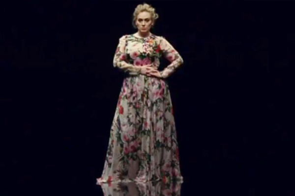 Here's your FIRST look at Adele's brand new music video!