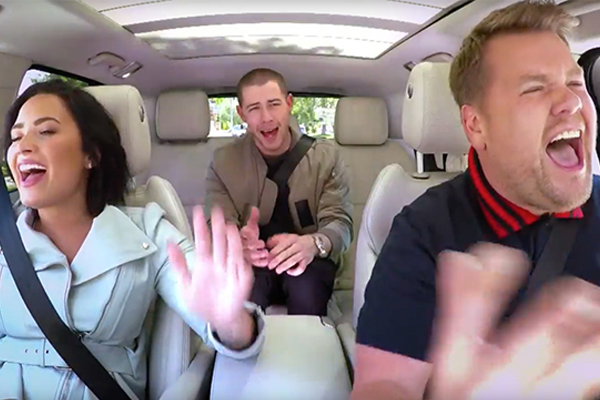 Demi's and Nick Jonas' 'Carpool Karaoke' REVEALS their sexual history!
