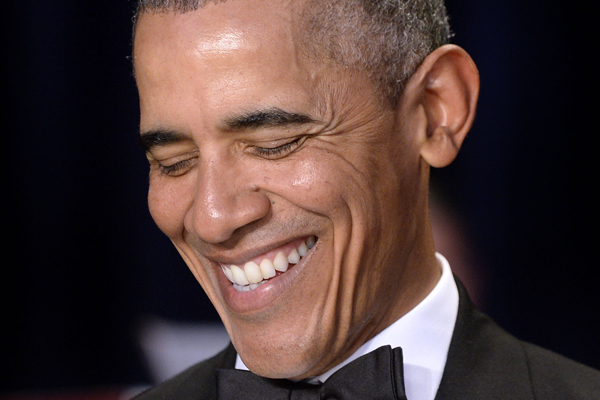 WATCH: President Obama just took the piss out of Kendall Jenner!
