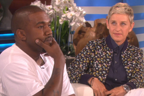 Kanye just went on the CRAZIEST rant on Ellen!