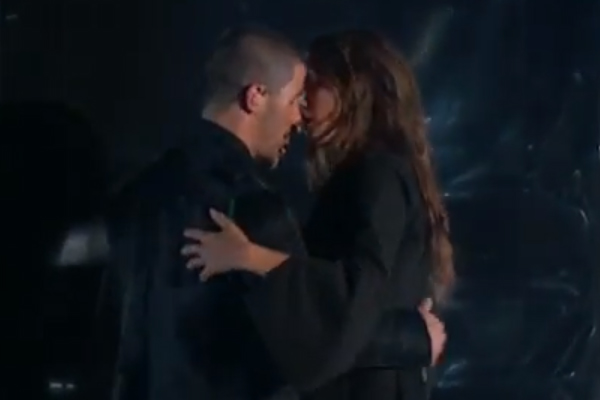 Did Nick Jonas and Tove Lo just MAKE OUT on live TV!