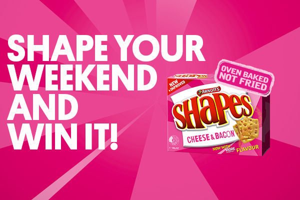 Shape Your Weekend and win it!