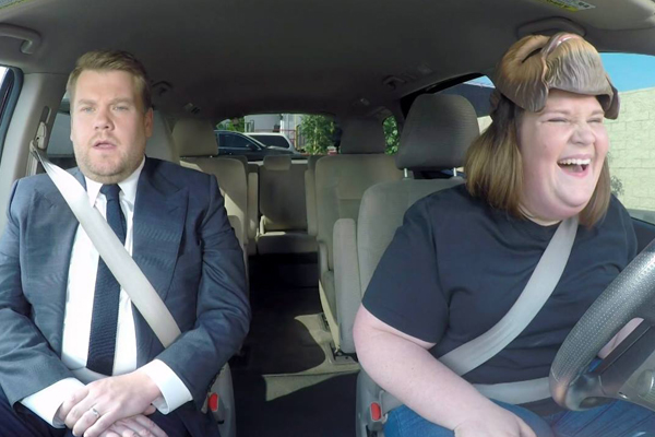 'Chewbacca Mum' is appearing on James Corden's 'Carpool Karaoke'