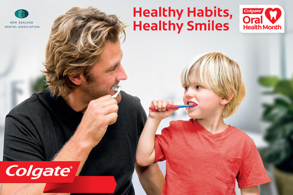Win $2000 and the chance to be in Colgate's next TV ad!