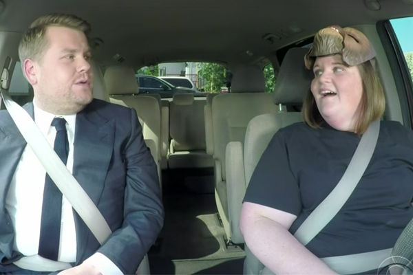 James Corden just gave 'Chewbacca Mum' the BIGGEST surprise ever!