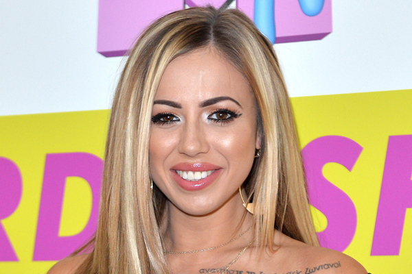 Geordie Shore's Holly Hagan just went BRALESS on the red carpet and everyone's losing it!