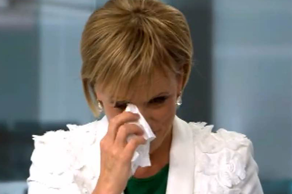 WATCH: Hilary Barry's last EVER time presenting the news!