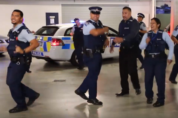The New Zealand Police just took on the 'Running Man' challenge and it's HILARIOUS