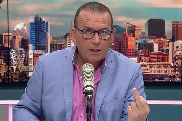 WATCH: Paul Henry just pulled the FINGER on LIVE television