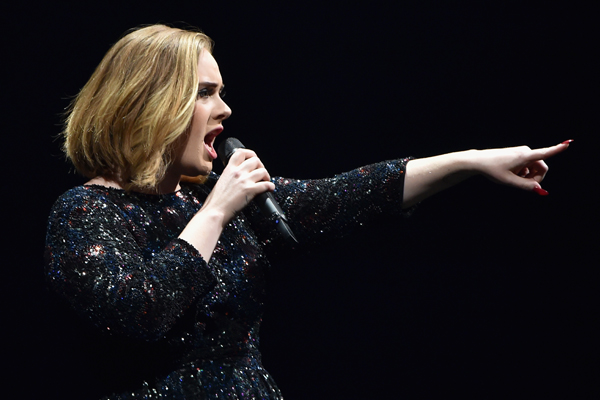 Adele just RIPPED into a fan for doing THIS at her concert!