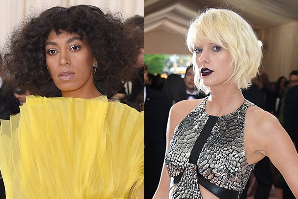 Solange Knowles just threw some MAJOR shade at Taylor Swift