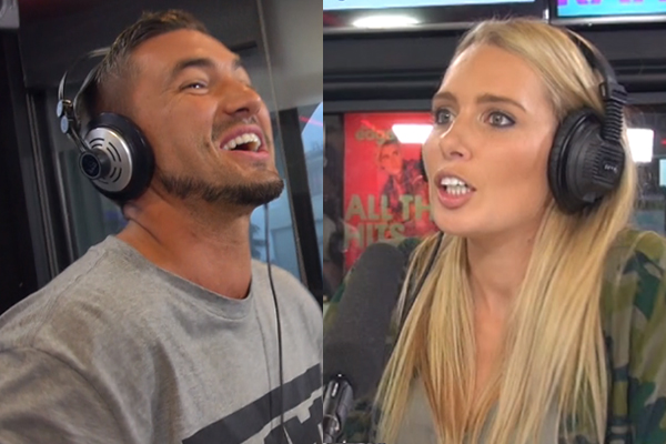 WATCH: Randell's wife catches him FLIRTING with Erin from The Bachelor NZ LIVE on-air!