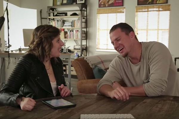 Channing Tatum just had  the SWEETEST interview with a reporter with autism