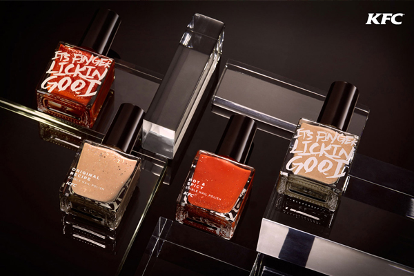 REVEALED: KFC just made their own edible NAIL POLISH!