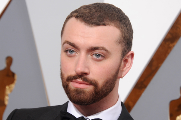 Sam Smith just debuted his even SKINNIER figure!