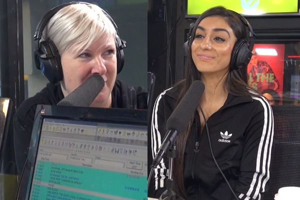 WATCH: Jay-Jay just CALLED OUT Naz to fight her in the ring!