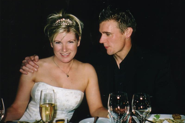 See all the pics from Dom and Jay-Jay's wedding 12 years ago