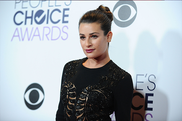 Lea Michele goes completely TOPLESS at the beach!