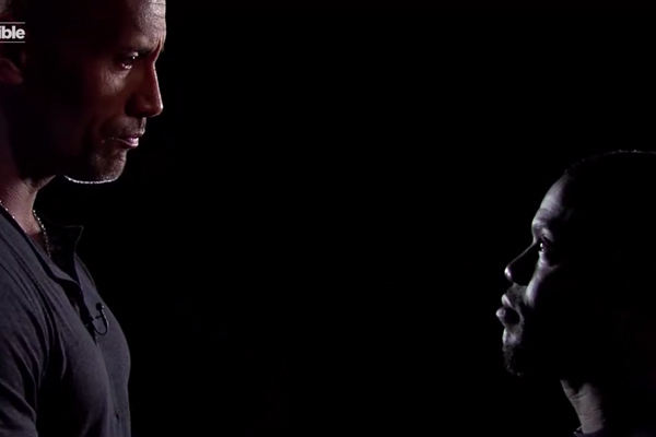 Kevin Hart and The Rock RIP INTO eachother during 'Insult Memory Game'
