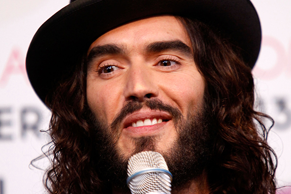 Russell Brand just got ENGAGED!