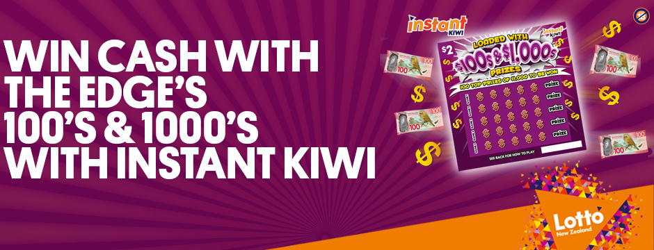 The Edge's 100s & 1,000s with Instant Kiwi!